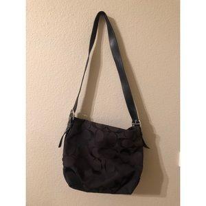 Coach tote bag with zipper